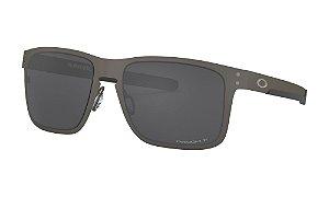 Óculos Oakley Holbrook Metal Matte Gunmetal Prizm Black Polarized