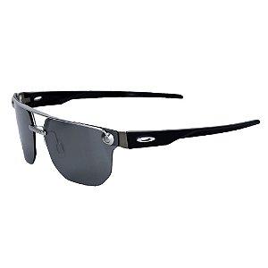 Óculos Oakley Chrystl Satin Chrome Prizm Black