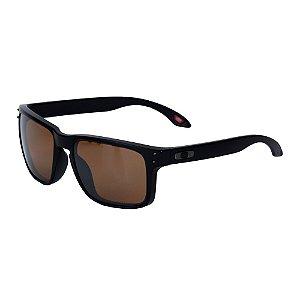 Óculos Oakley Holbrook Matte Black Prizm Tungsten Polarized