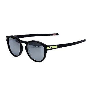Óculos Oakley Latch Matte Black Chrome Iridium