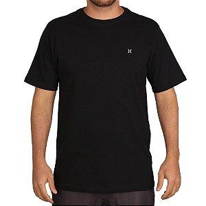 Camiseta Hurley Silk O&O Solid Preto