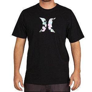 Camiseta Hurley Silk Icon Spaygun Preto