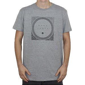 Camiseta Hang Loose Silk MC LEAF Mescla