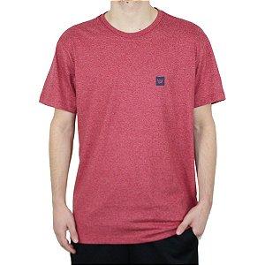 Camiseta Hang Loose Silk Mc Brand Mescla Vermelho