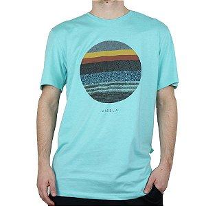 Camiseta Vissla Silk Equator Azul