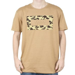 Camiseta Hang Loose Silk Koolau Camel Mescla
