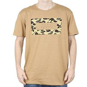 Camiseta Hang Loose Silk Koolau Camel Mescla