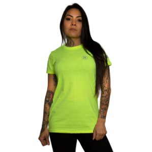 Camiseta Hurley Silk Block Amarelo Neon
