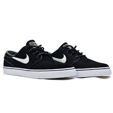Tênis Nike SB Zoom Stefan Janoski OG Couro Preto/Branco