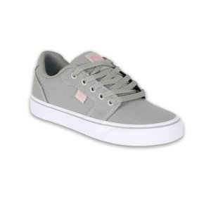 Tenis DC Anvil TX LA Light Grey/Pink