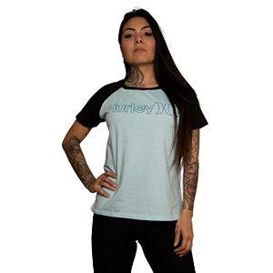 Camiseta Hurley O&O Fill Azul Mescla