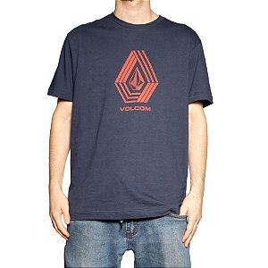 Camiseta Volcom Silk Stone Marinho
