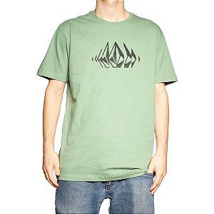 Camiseta Volcom Silk Stone Sounds Folha