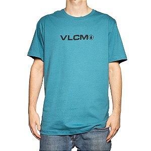 Camiseta Volcom Silk Removed Verde Claro