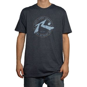 Camiseta Rusty Silk Horizon Mescla Marinho