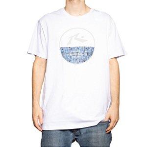 Camiseta Rusty Silk Urban Camo Branco