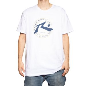 Camiseta Rusty Silk Horizon Branco