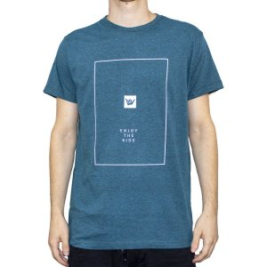 Camiseta Hang Loose Silk Ride Midnight Blue