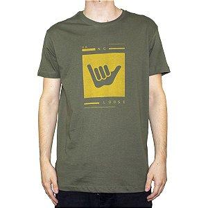 Camiseta Hang Loose Silk Logart Verde Militar