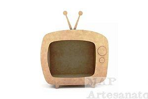 TV RETRO MDF CRU