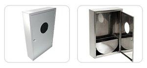 Caixa de Hidrante em Aço Inox sobrepor 900x600x200 GILINOX