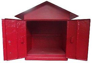 Caixa Especial em fibra Para abrigar mangueiras e acessórios para hidrantes