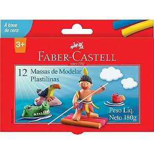 Massa De Modelar Cera Faber Castell 12 Cores