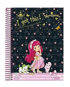 Caderno moranguinho 15 matérias