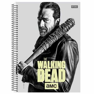 Caderno Universitário The Walking Dead 10 Matérias São Domingos