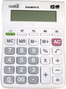CALCULADORA CLASSE CLA-8010-12 12 DIGITOS