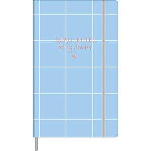 Caderneta Pontilhado Small Notes Soho Tilibra Azul