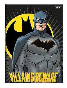 Caderno Universitário Costurado Batman 96Fls