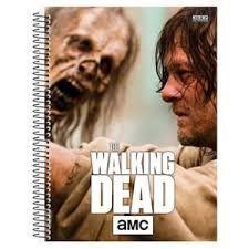 Caderno Universitário The Walking Dead 10 Matérias São Domingos