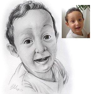 Desenho com uma pessoa – Pequeno