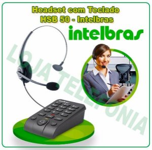 Telefone Headsets Intelbras