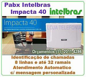 PABX Intelbras Impacta 40