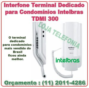 Interfone Terminal Dedicado para Condomínios Intelbras TDMI 300