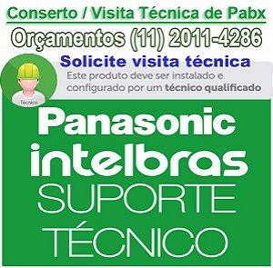 Conserto de PABX em Santo André - Autorizada PABX Intelbras e Panasonic