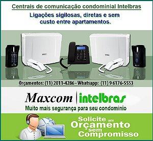 Conserto de Interfones Maxcom  - Autorizada Intelbras - Maxcom