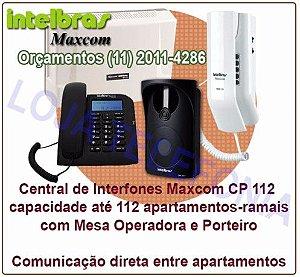 Instalação de Interfones Intelbras/Maxcom para condomínio