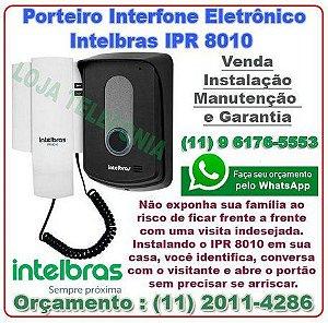 Orçamento de Instalação de Interfones Maxcom Intelbras