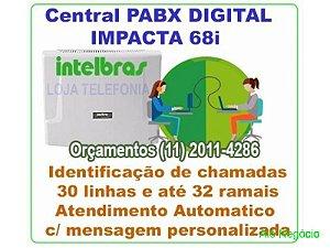 Orçamento de PABX - Visita Técnica - Autorizada Intelbras