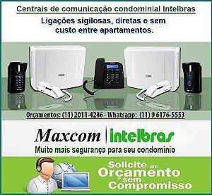 Conserto de Interfones Intelbras Maxcom CP 112 / CP 192 / CP 352 / EVL