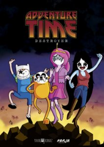 Poster Adventure Time Kiss