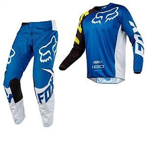 Conjunto Calça e Camisa Fox 180 Race
