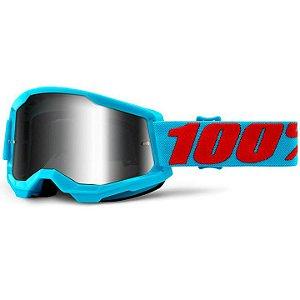 Óculos 100% Strata 2 Espelhado