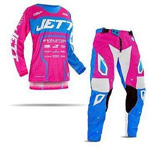 Conjunto Calça e Camisa Femenino Jett Evolution II
