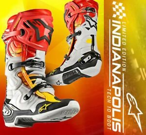 Bota Alpinestars New Tech 10 Ed. Limitada Indianápolis