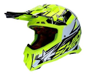 Capacete Shiro Carbono Mx-917 Thunder