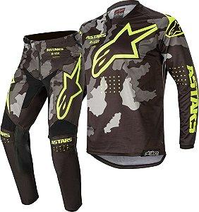 Conjunto Calça e Camisa Alpinestars Racer Tactical 2020